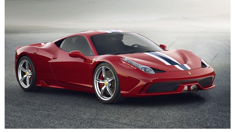 Ferrari 458 Speciale 2013 : plus méchante, plus puissante