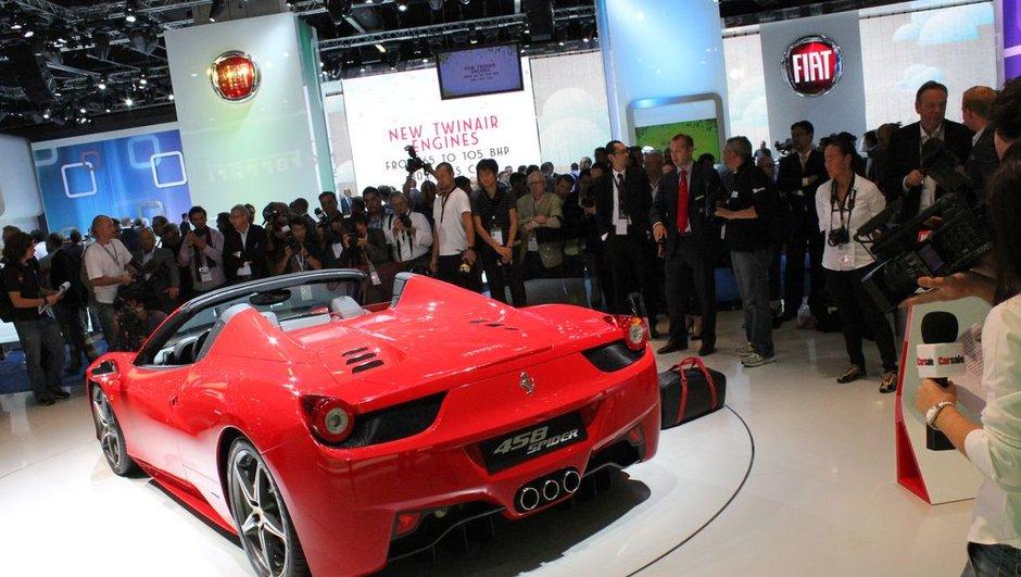 Le prix de la Ferrari 458 Spider dévoilé