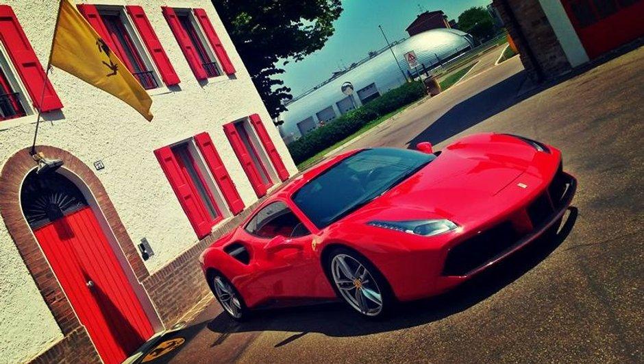 Automoto : la Ferrari 488 GTB à l'essai ce 7 juin 2015
