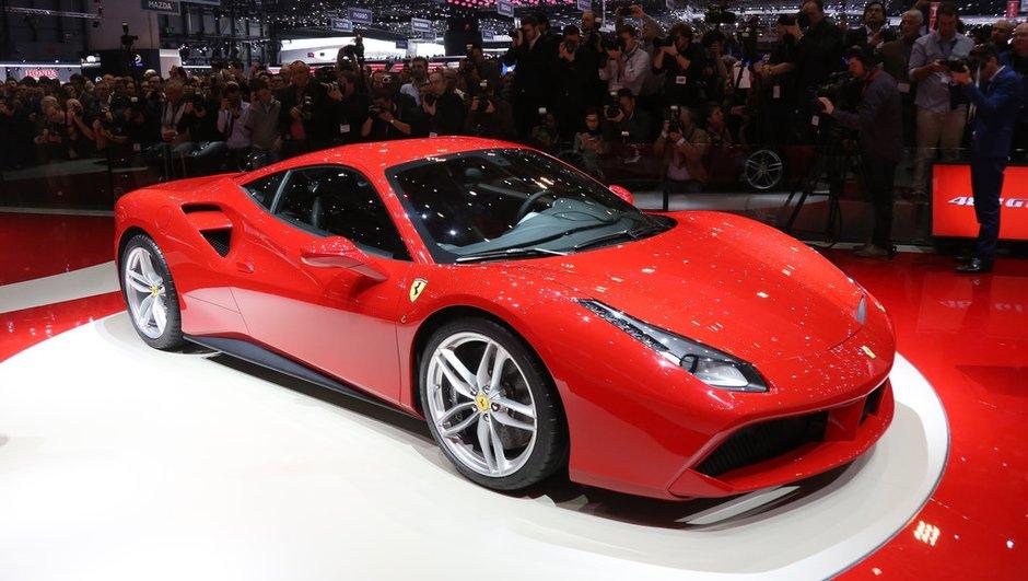 Salon de Genève 2015 : Ferrari 488 GTB, le turbo prend le pouvoir (+ vidéo)