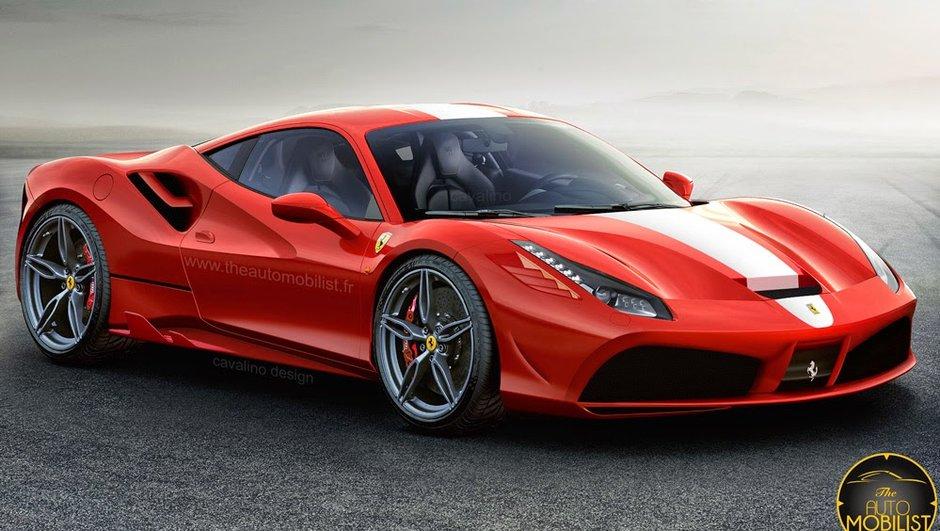 La nouvelle Ferrari 488 GTB déjà imaginée en version Speciale !