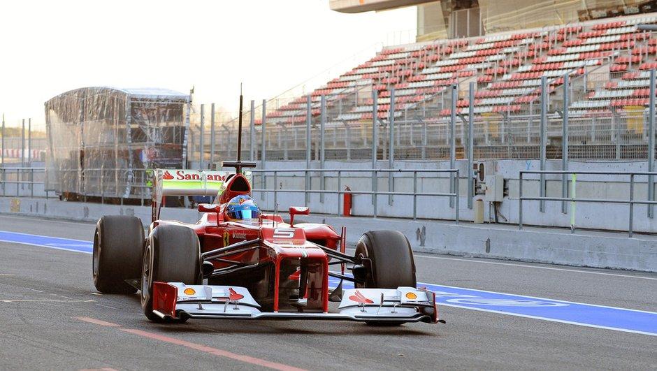 F1 Live : deuxième jour des essais de Barcelone 2012