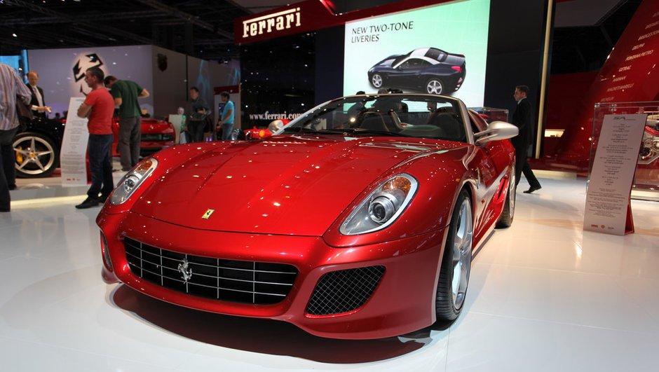 La Ferrari SA Aperta, star inaccessible du Mondial de l'Auto
