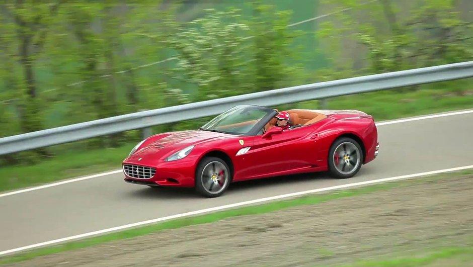 Vidéo : la Ferrari California 2012 dévoile sa mélodie