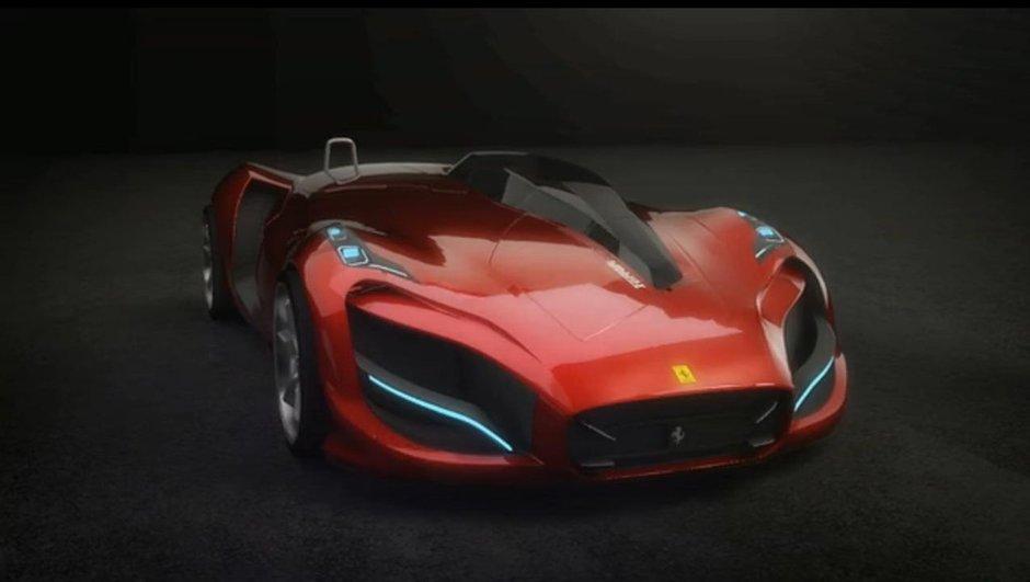 Vidéo : un concept Ferrari par un designer coréen