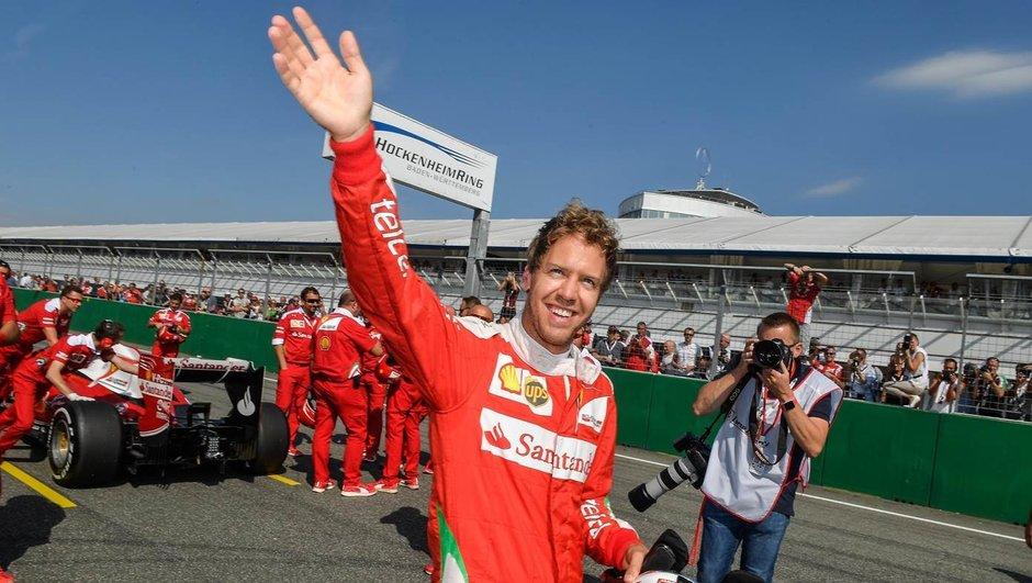 Ferrari Days 2016 – Sebastian Vettel fait le show à Hockenheim