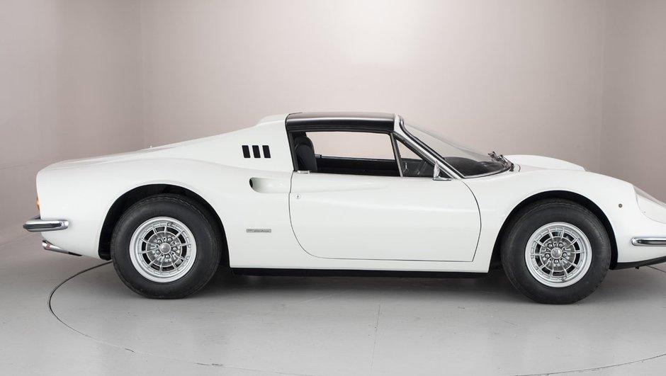 Occasion du jour : L'ancienne Ferrari Dino 246 GTS de Ross Brawn est à vendre