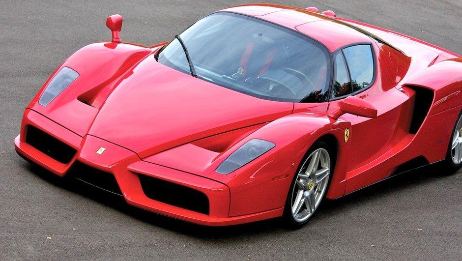 La Ferrari Enzo du Pape Jean-Paul II vendue pour plus de 6 millions de dollars !
