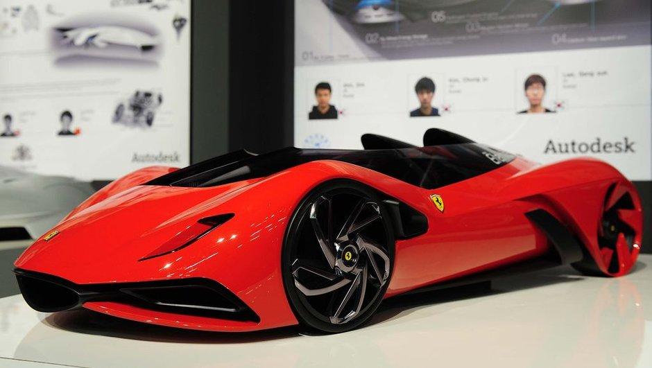 Concours Design Ferrari 2011 : et les gagnantes sont...