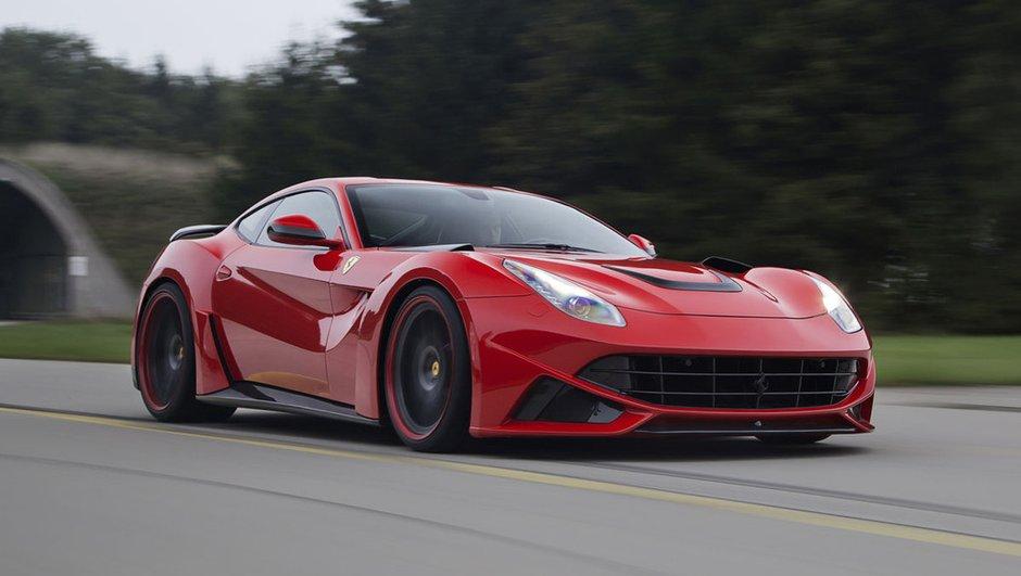 Tuning : La Ferrari F12 N Largo par Novitec Rosso