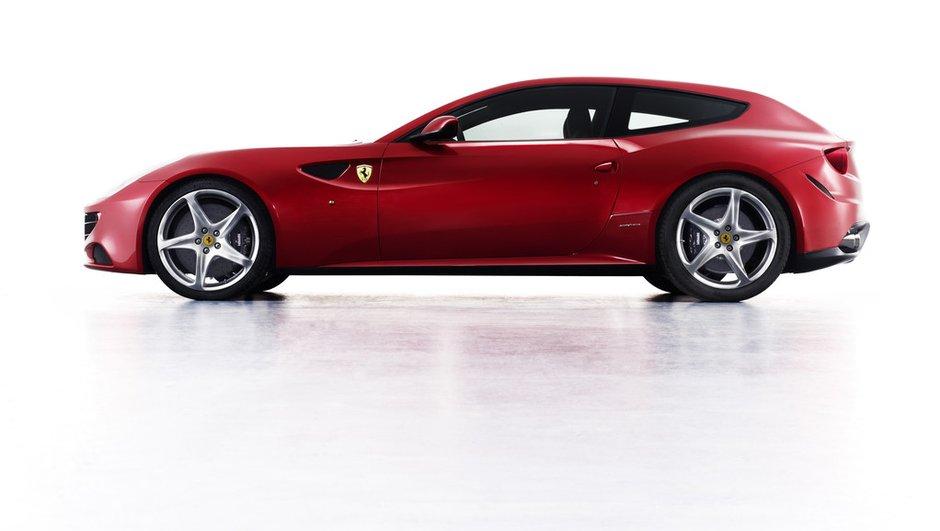 Ferrari FF, un break pour remplacer la Ferrari 612 Scaglietti