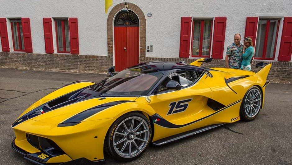 Insolite : il offre une Ferrari FXX K à sa femme !