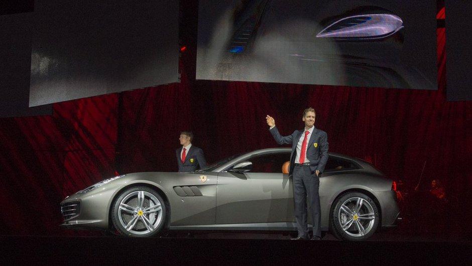 La nouvelle Ferrari GTC4Lusso présentée « en vrai » en Italie