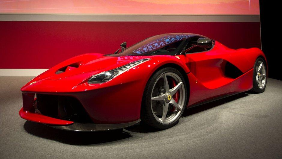 Une future Ferrari LaFerrari Spider pour 2015 ?
