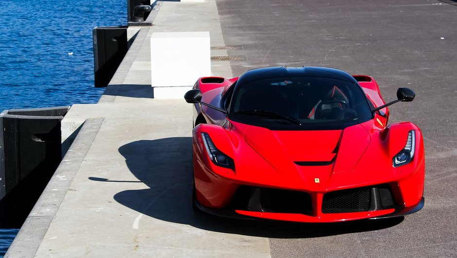 Passion Photos : Une Ferrari LaFerrari à Monaco par Raphaël Belly