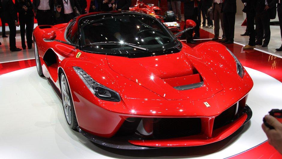 Une 500è Ferrari LaFerrari pour les victimes du tremblement de terre