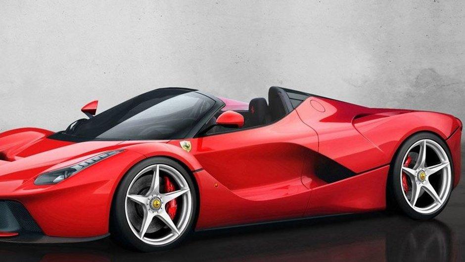 Ferrari Laferrari Spider pour 5,1 millions d'euros ?
