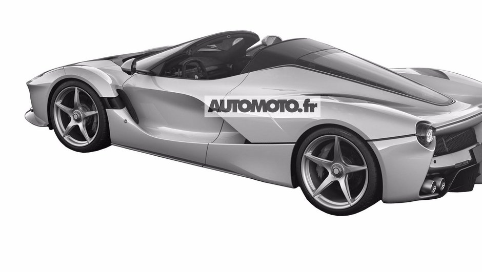 Ferrari LaFerrari Spider/Aperta : De nouvelles images exclusives