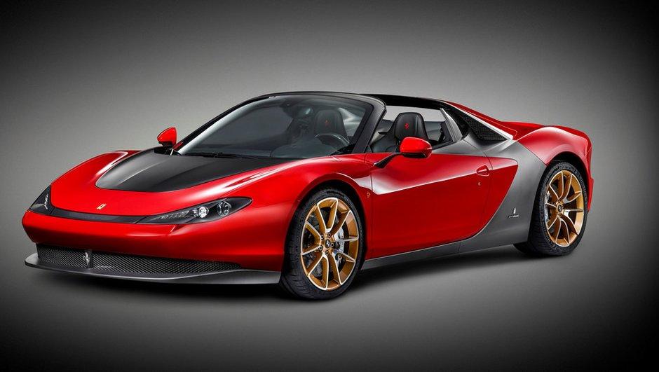 Ferrari Sergio : version définitive présentée à Abu Dhabi