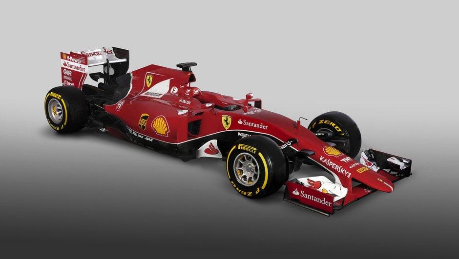 F1 2015 : la Scuderia Ferrari présente sa SF15-T