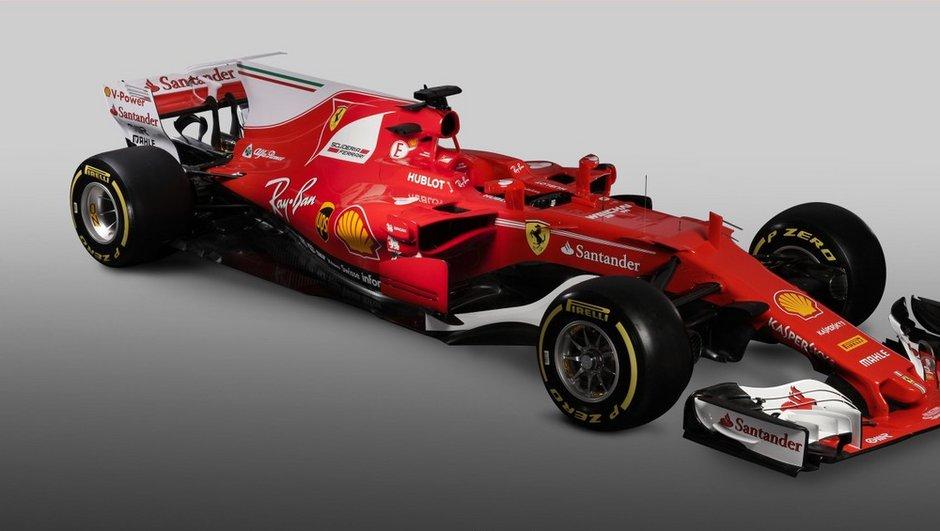 F1 2017 : Ferrari dévoile sa nouvelle monoplace, la SF70-H