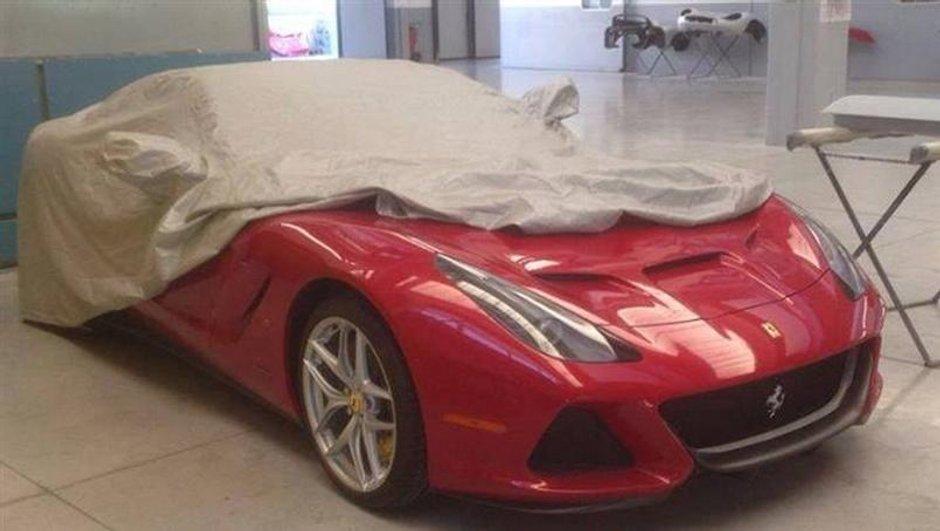 Ferrari SP America 2014 : photo scoop d'un nouveau modèle unique ?