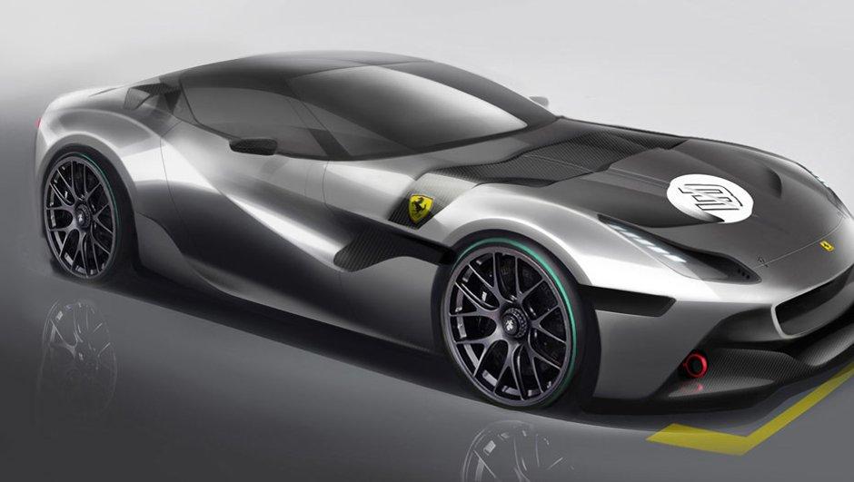 Ferrari SP Arya : nouvelle oeuvre unique en préparation