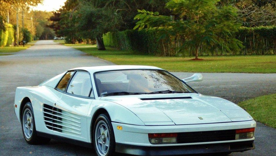 "Insolite : La Ferrari Testarossa de ""Deux Flics à Miami"" à vendre sur eBay !"