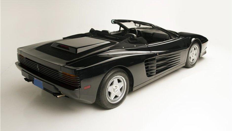 Insolite : une Ferrari Testarossa ex-Michael Jackson en vente