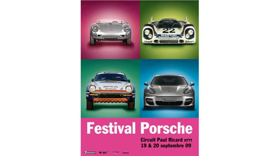 Festival Porsche 2009 : vivez Porsche tout un week-end !