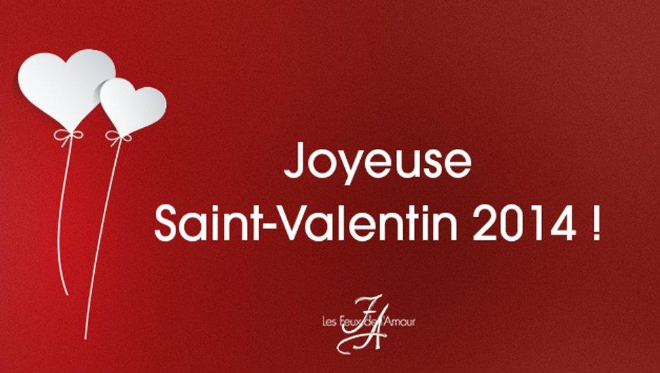 Venez fêter la Saint-Valentin avec les Feux de l'Amour sur MYTF1 !