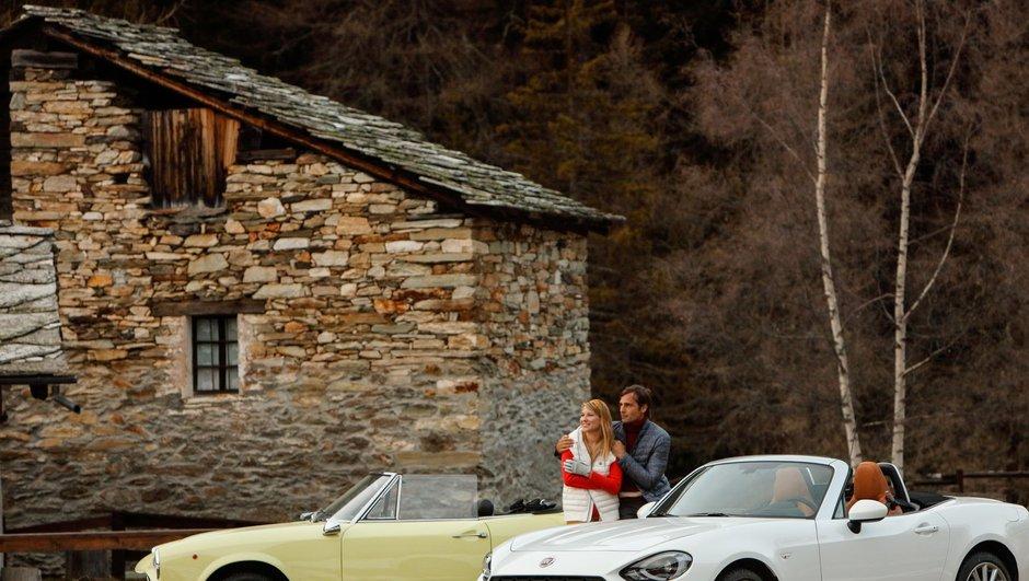 La Fiat 124 Spider fête ses 50 ans !