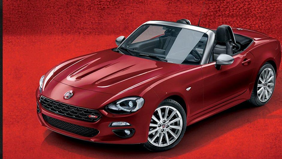 Fiat fête les 50 ans de son 124 Spider avec une série limitée