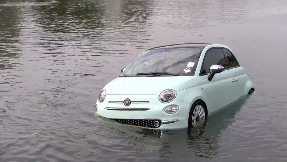 Insolite : L'échec total de la présentation de la Fiat 500 en Lituanie