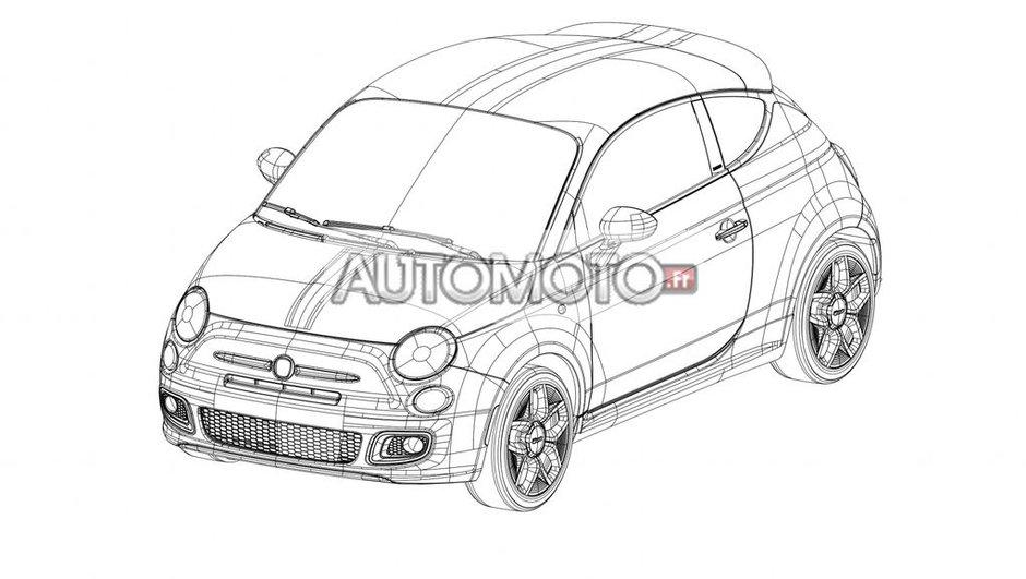 Fiat 500 Coupé Zagato : les images exclusives