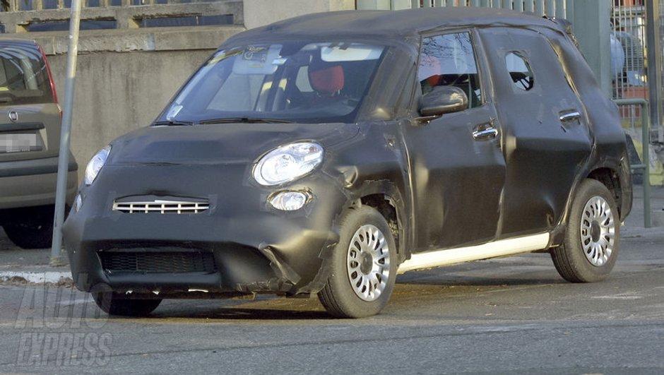 Scoop : Fiat L-0, le minispace italien pris en tests