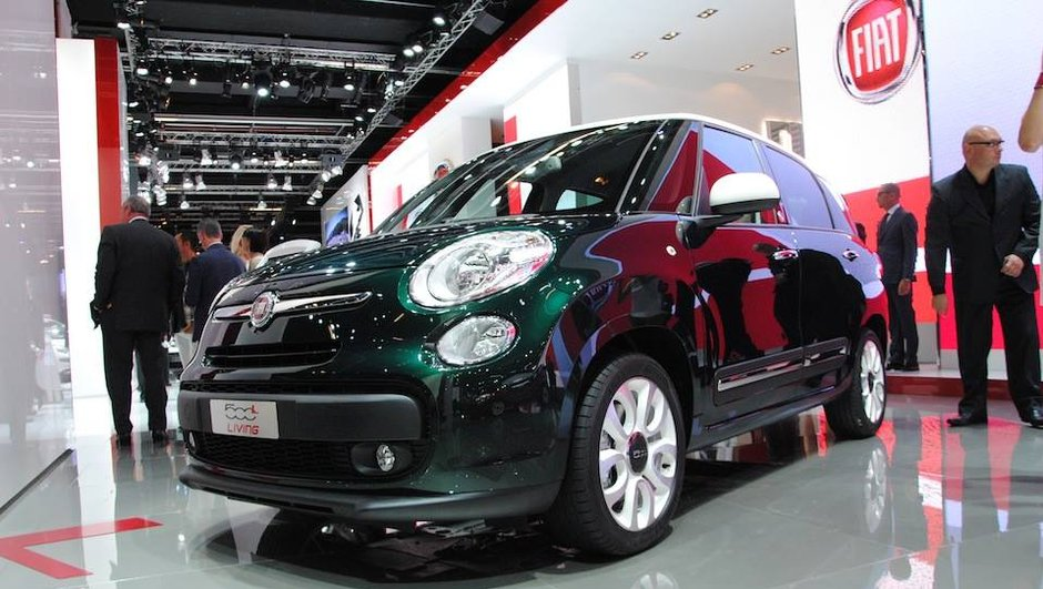 Salon de Francfort 2013 : FIAT 500L Living, chic à sept