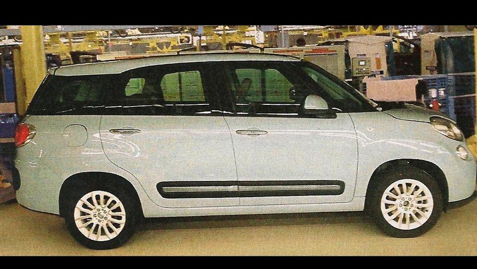 Fiat 500XL 2013 : première photo scoop