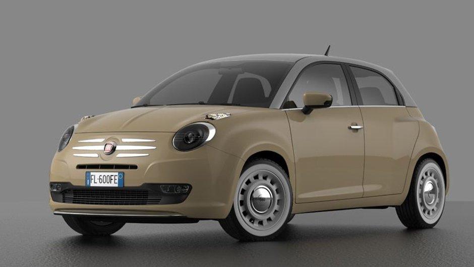 FIAT 600 2014 : une remplaçante virtuelle pour la Punto