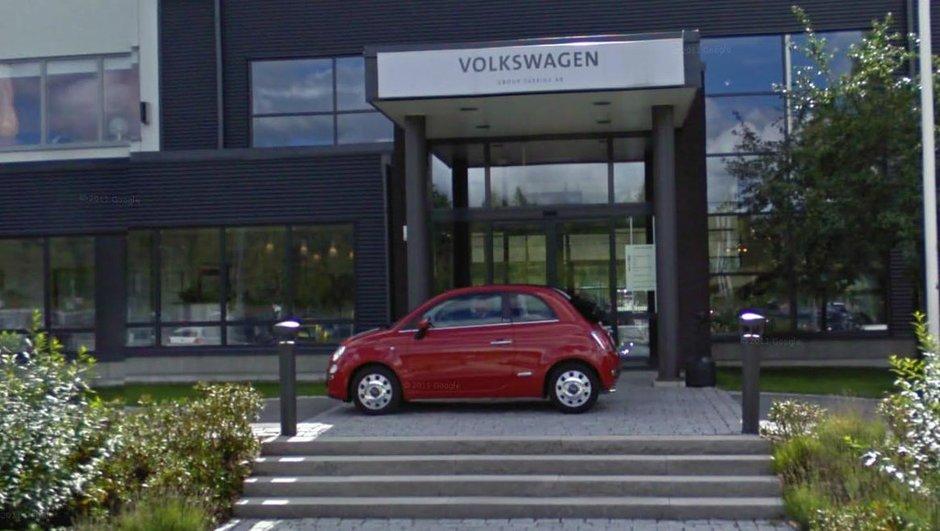 Fiat charrie Volkswagen en Suède