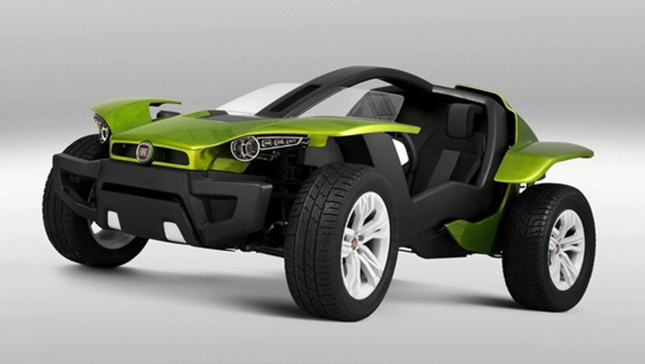 Sao Paulo: Fiat expose un buggy électrique