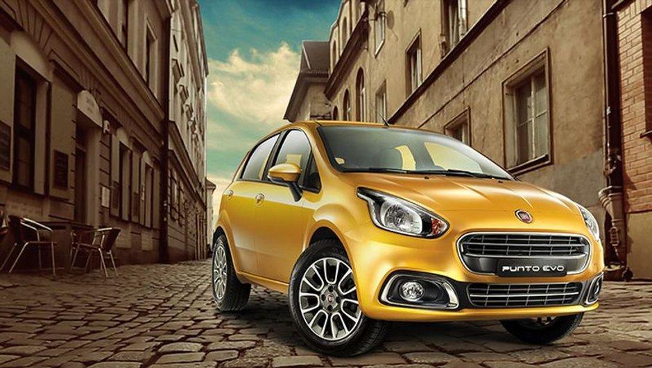 Fiat Punto Evo 2015 : nouveau visage dévoilé en Inde