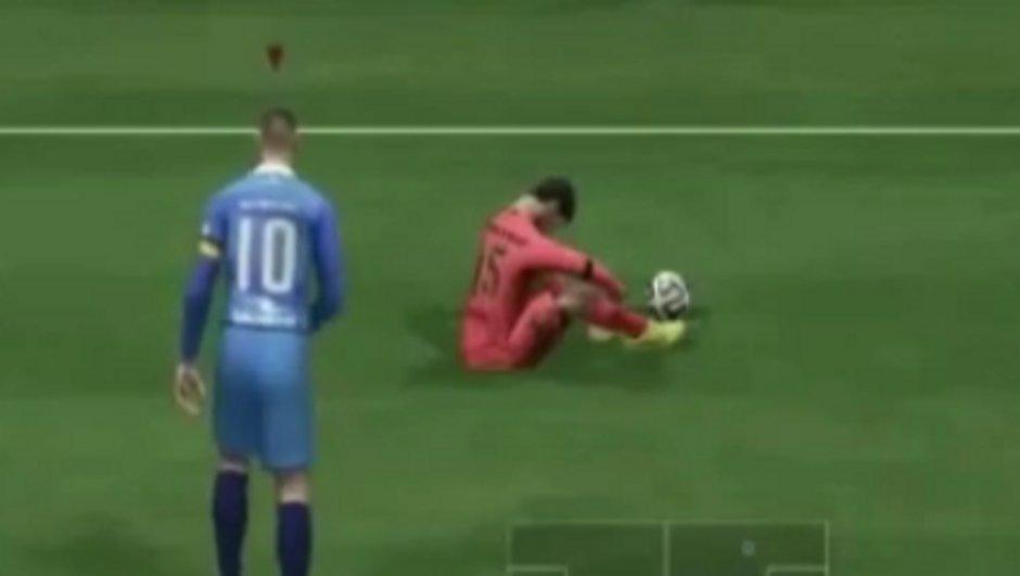 Fifa 15 : Le bug le plus insolite du jeu