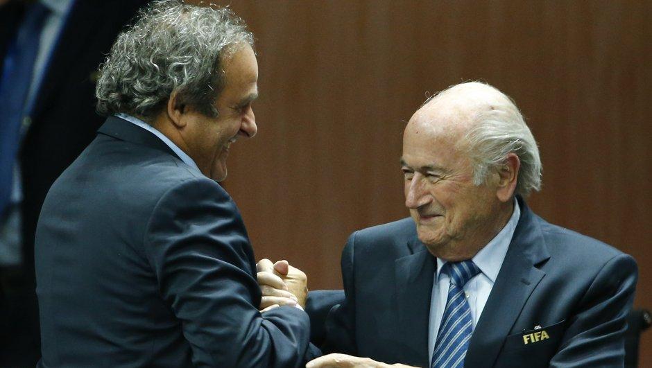 FIFA : Blatter et Platini suspendus 90 jours
