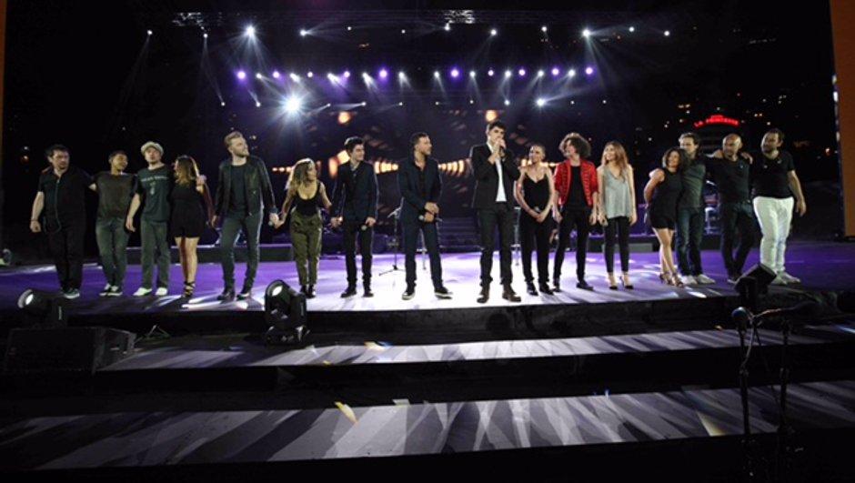 The Voice Tour met le feu au Liban
