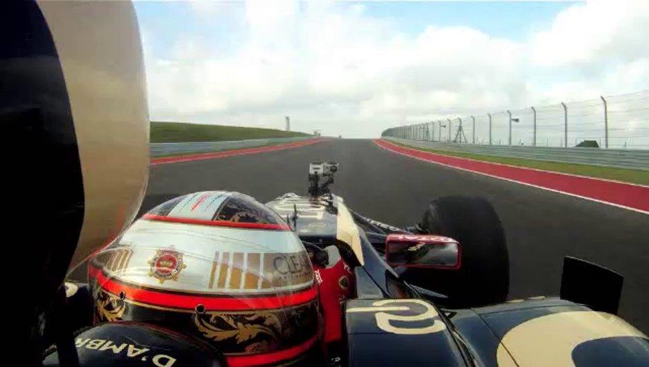 F1 : premier tour du circuit d'Austin en vidéo !