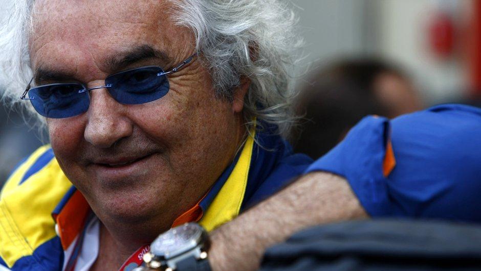 F1 : Flavio Briatore s'en sort bien !