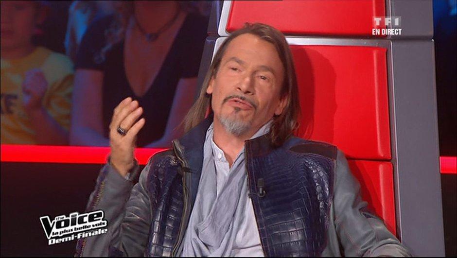 """The Voice 2 - Florent Pagny : """" Je ne suis pas très secret comme garçon """""""