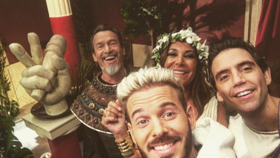 M Pokora, Zazie, Florent Pagny et Mika, déguisés pour la bande-annonce
