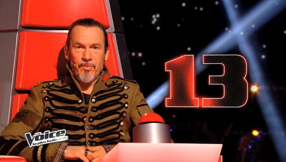 The Voice 3 : Florent Pagny n'a plus qu'une place à offrir dans son équipe...